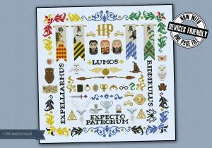 Harry Potter pillow sampler
