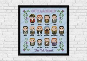 Outlander cross stitch
