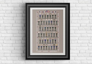 US presidents cross stitch pattern