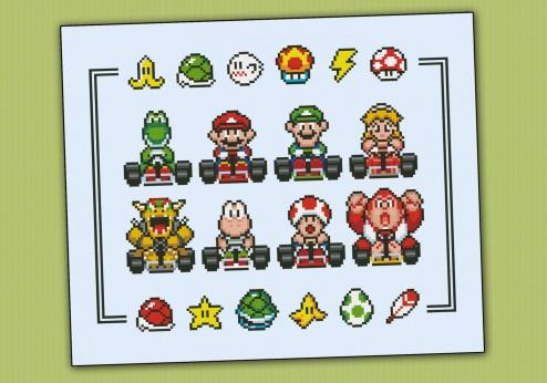 Mario Kart (sprite)
