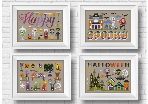 It's a spooky wor(l)d - Halloween theme - 3 + 1 for free!