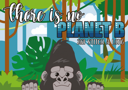 There is no planet B - Yearly Stitch a Long and Kit