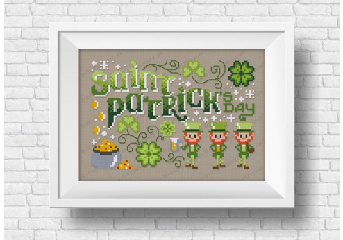 Saint Patrick's Day - Wor(l)ds series
