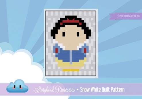 snow white quilt pattern