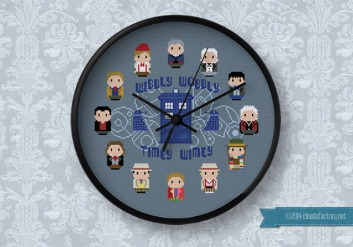 Doctor Who - 12 Doctors Clock