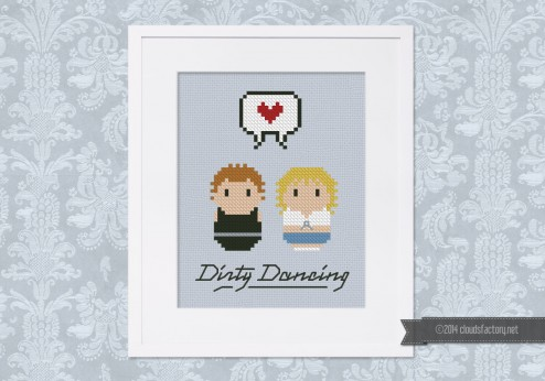 Dirty Dancing - Johnny and Baby - Mini People in Love
