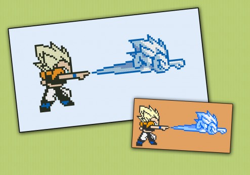 Dragon Ball Z - Legendary Super Warriors - Gotenks (sprite)