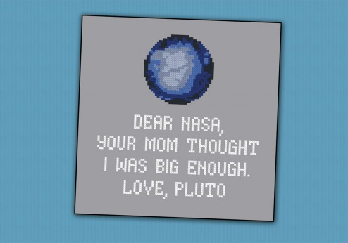 Pluto funny quote
