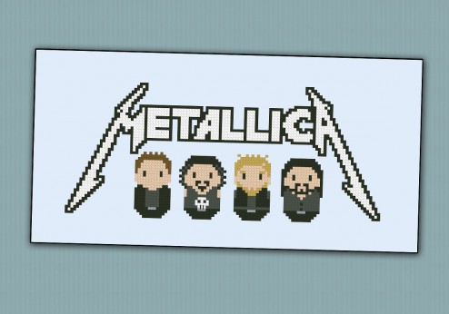 Metallica rock/metal band