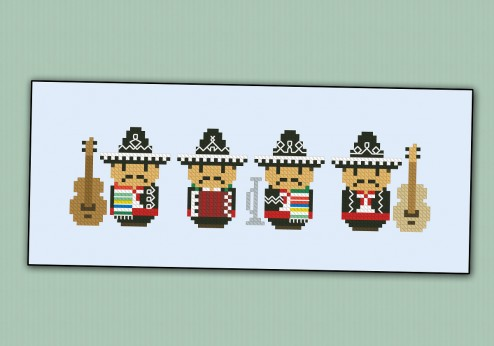 Cute Little Mariachi Band
