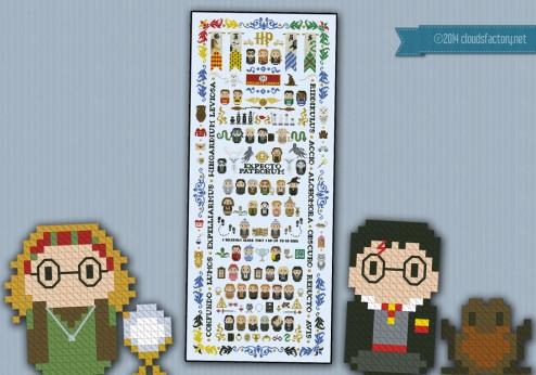 Harry Potter - Giant Version (5 parts)
