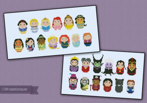 Princesses and Villains bundle - Save 7%