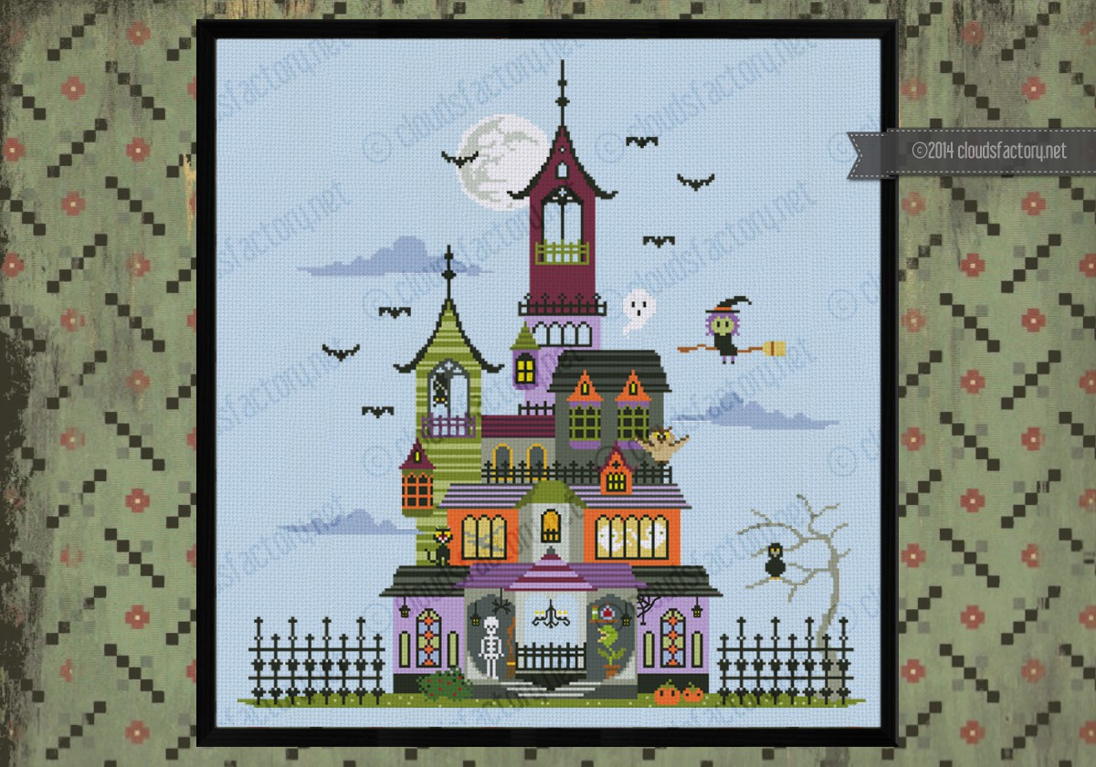 Haunted house for House pattern