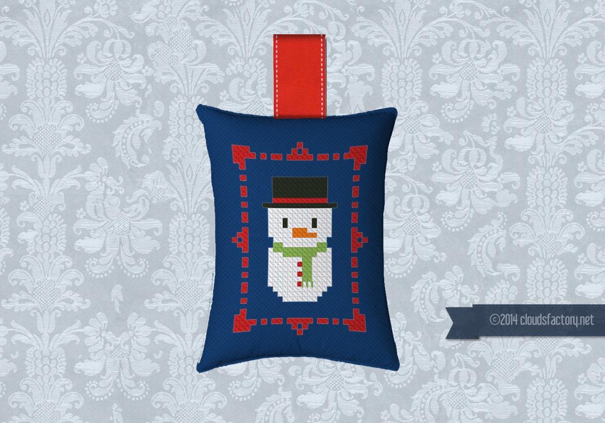 FREE - Christmas Ornament - Free patterns - Cross Stitch ...
