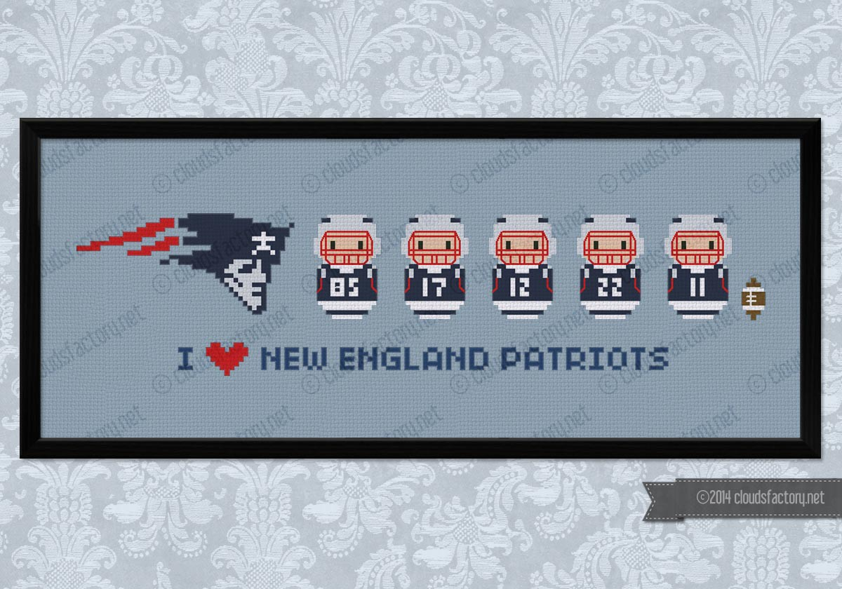 New England Patriots American Football Team Digital