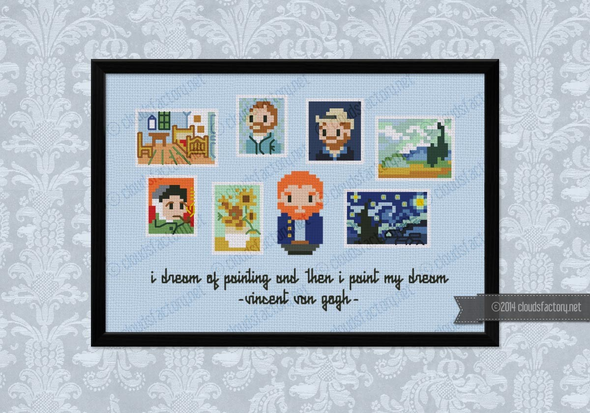 Mini Artists Galleries Vincent Van Gogh