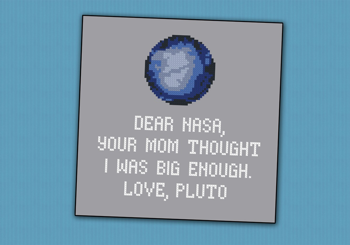 Pluto Funny Quote