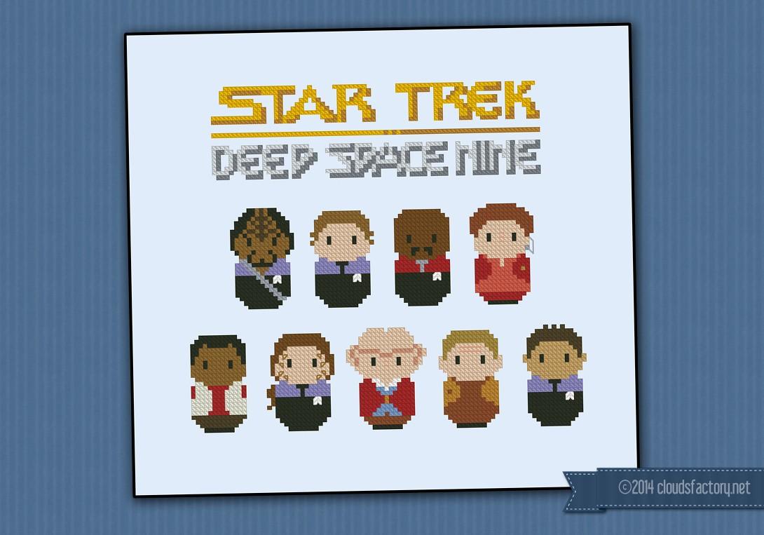 Star Trek - Deep Space Nine - Digital Cross Stitch Pattern