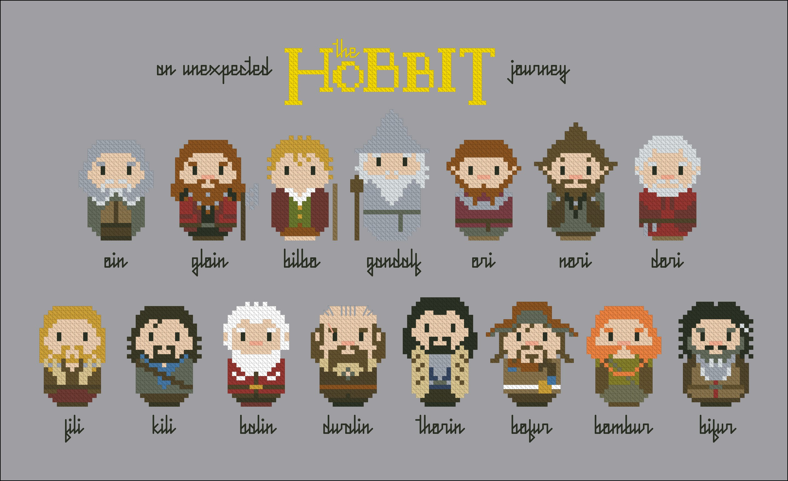 The Hobbit An Unexpected Journey Movies Mini People