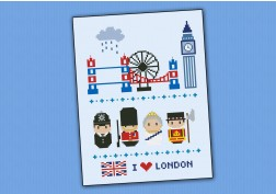 London icons (big version) – Mini people around the world