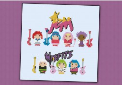Jem and The Holograms and the Mistfits