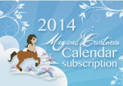 2014 Magical Creatures Calendar