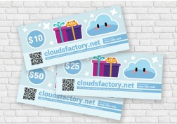 Cloudsfactory Gift Card