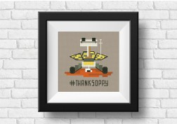opportunity rover free cross stitch pattern