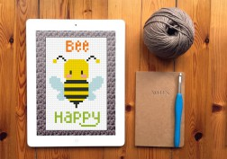 FREE crochet - Bee Happy