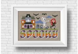 Spooky - It's a spooky wor(l)d Halloween series