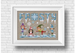 Frosty - It's a Sweet wor(l)d Christmas series