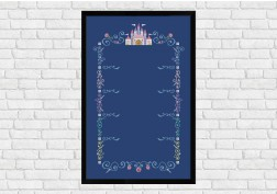 Center Column Frame - Epic Storybook Princesses