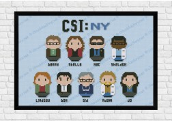 csi new york cross stitch pattern
