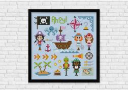Pirates, Ahoy! - Boys + Girls