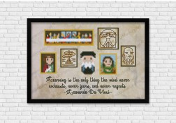 Mini Artists Galleries - Leonardo Da Vinci