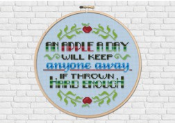 An apple a day... quote