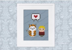 Calvin and Hobbes - Mini People in Love