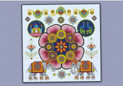A Night in India pillow sampler