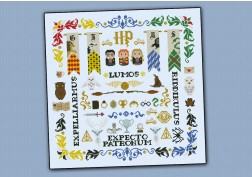 Harry Potter pillow sampler