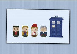 Doctor Who - Last four Doctors