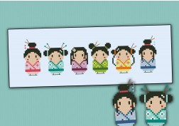 Cute little geishas