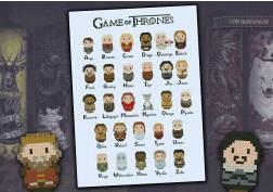 Game of Thrones alphabet sampler