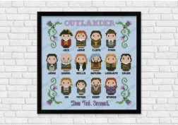Outlander cross stitch