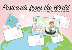 Postcards from the World - Yearly subscription - KIT