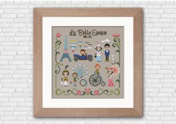 Belle epoque cross stitch
