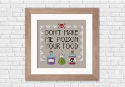Don't make me poison your food... quote