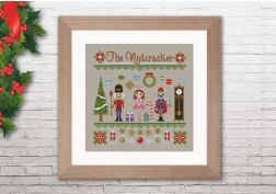 The Nutcracker cross stitch pattern by Cloudsfactory
