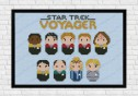 star trek voyager cross stitch
