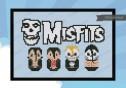 Misfits cross stitch pattern by Cloudsfactory