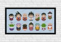 Dragon Ball Z cross stitch pattern